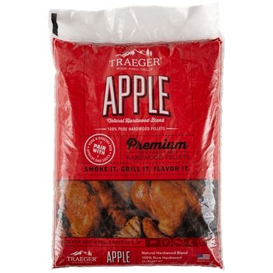 Traeger Hartholz Apfel Pellets 9kg