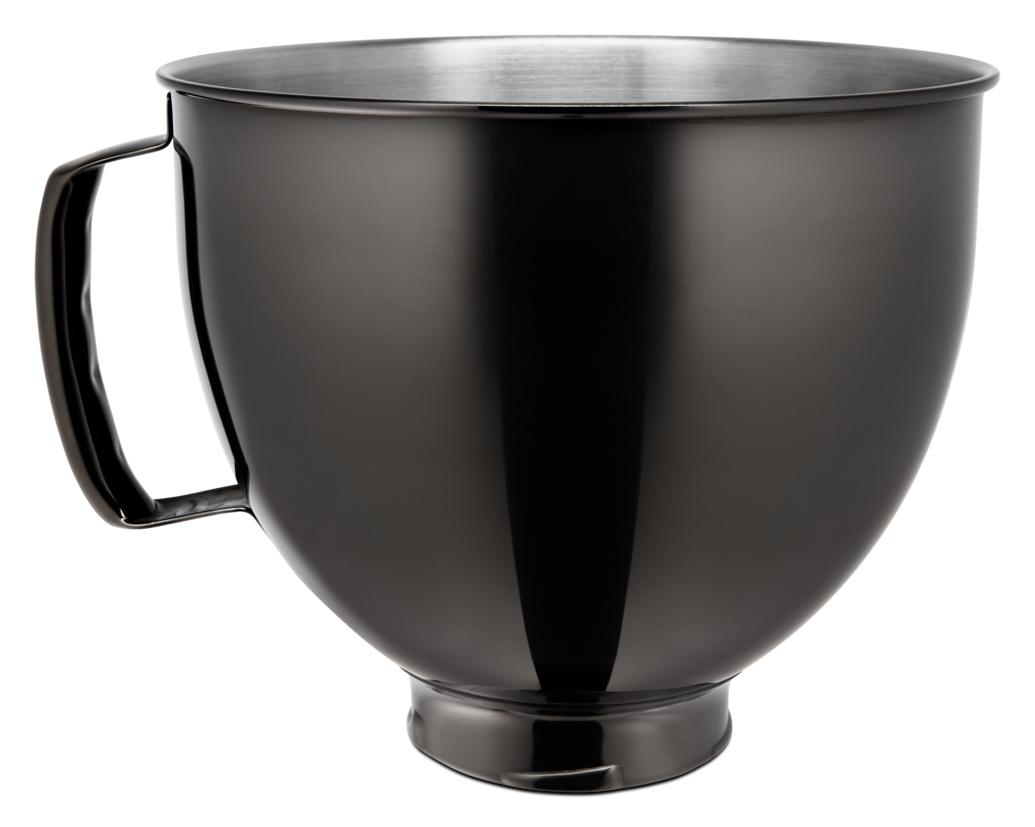 KitchenAid Edelstahlschüssel 4.8l schwarz glanz