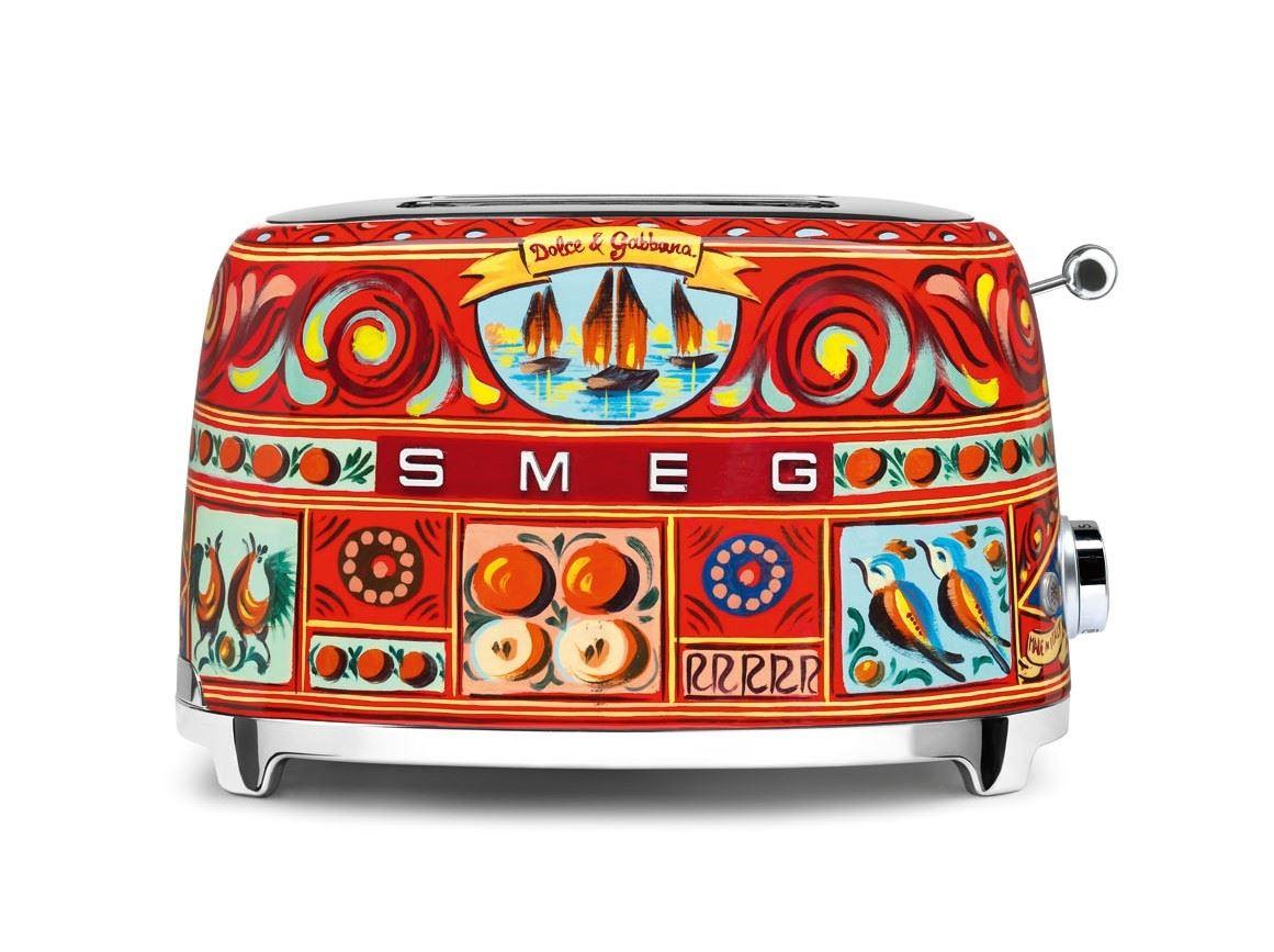 SMEG Toaster 2-Schlitz kompakt Dolce & Gabbana