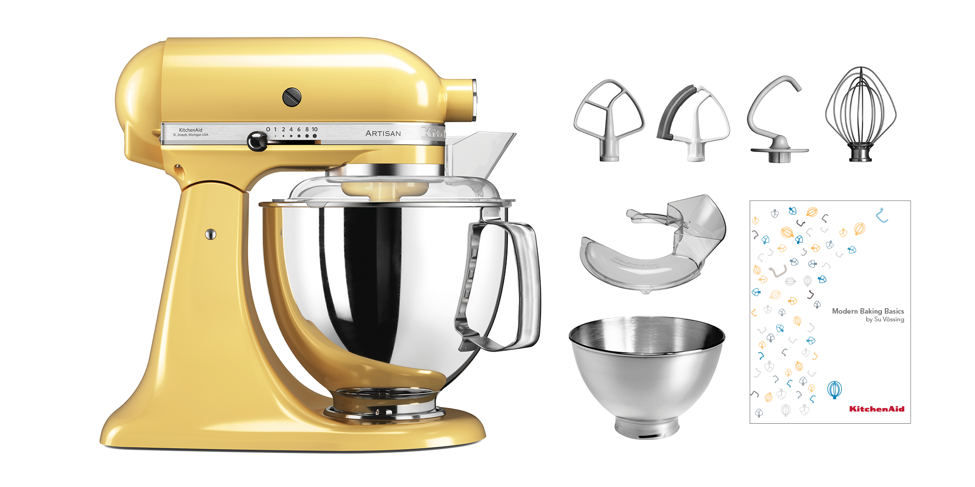 KitchenAid Küchenmaschine KSM200 Swiss Edition