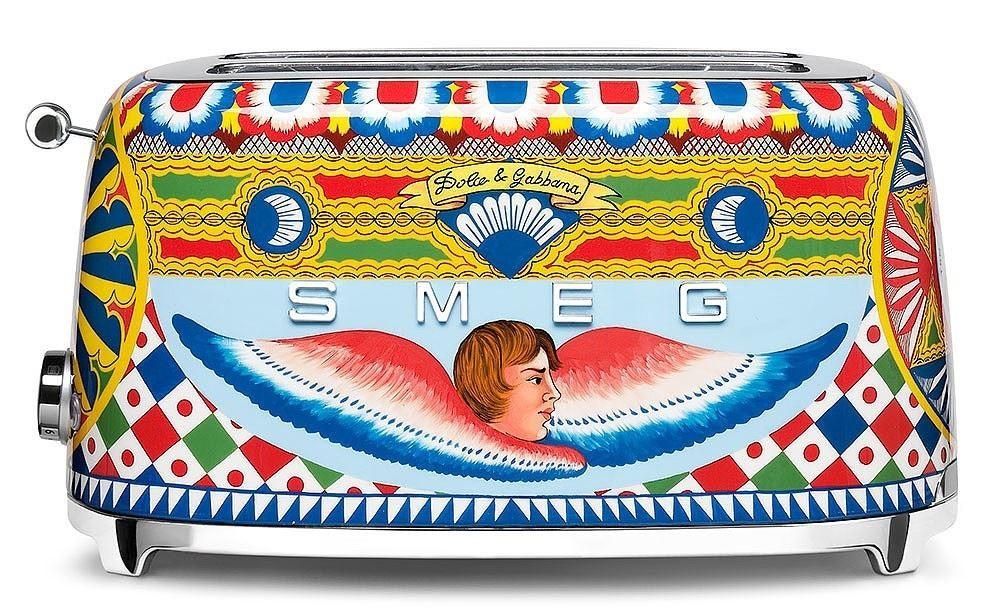 SMEG Toaster 2-Schlitz lang Dolce & Gabbana