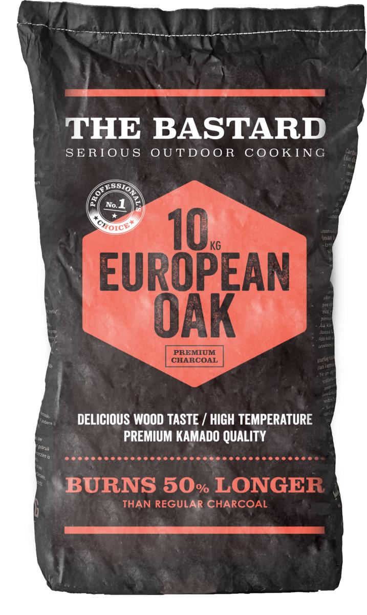 The Bastard Holzkohle Europäische Eiche 10kg