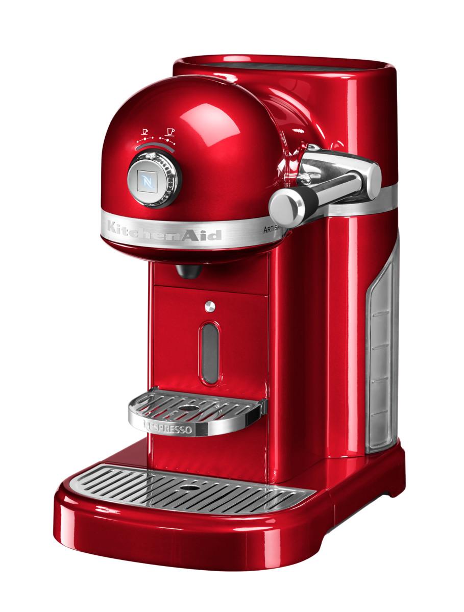 KitchenAid Nespresso Kaffeemaschine - liebesapfelrot
