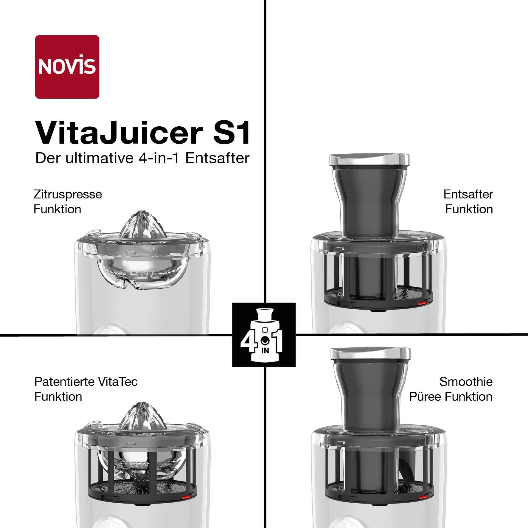 Novis VitaJuicer S1 - rot