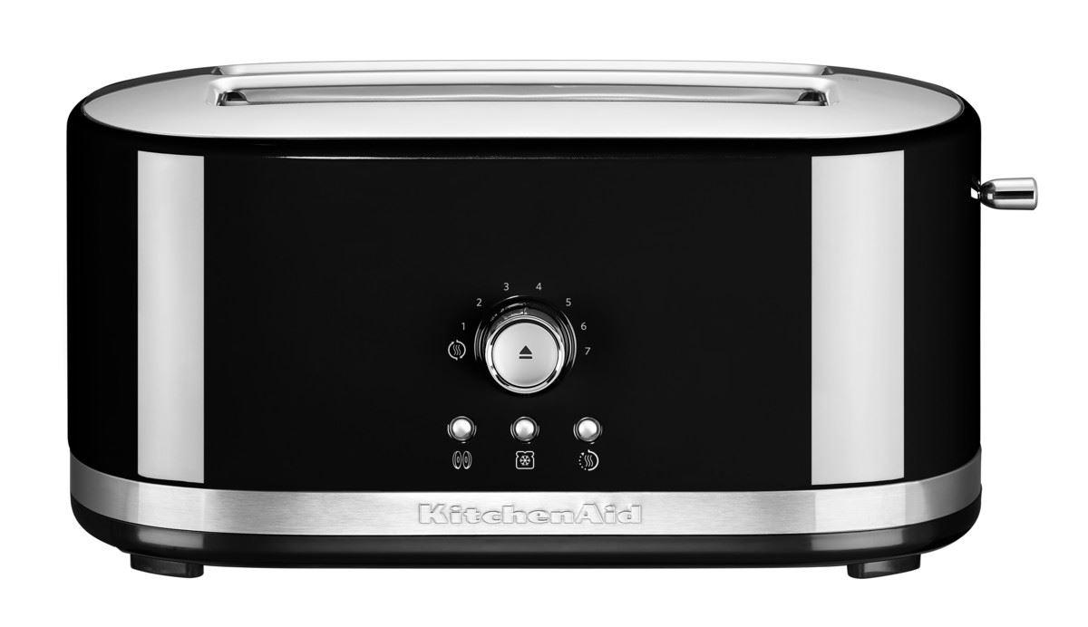 KitchenAid Toaster mit manueller Bedienung und langen Schlitzen