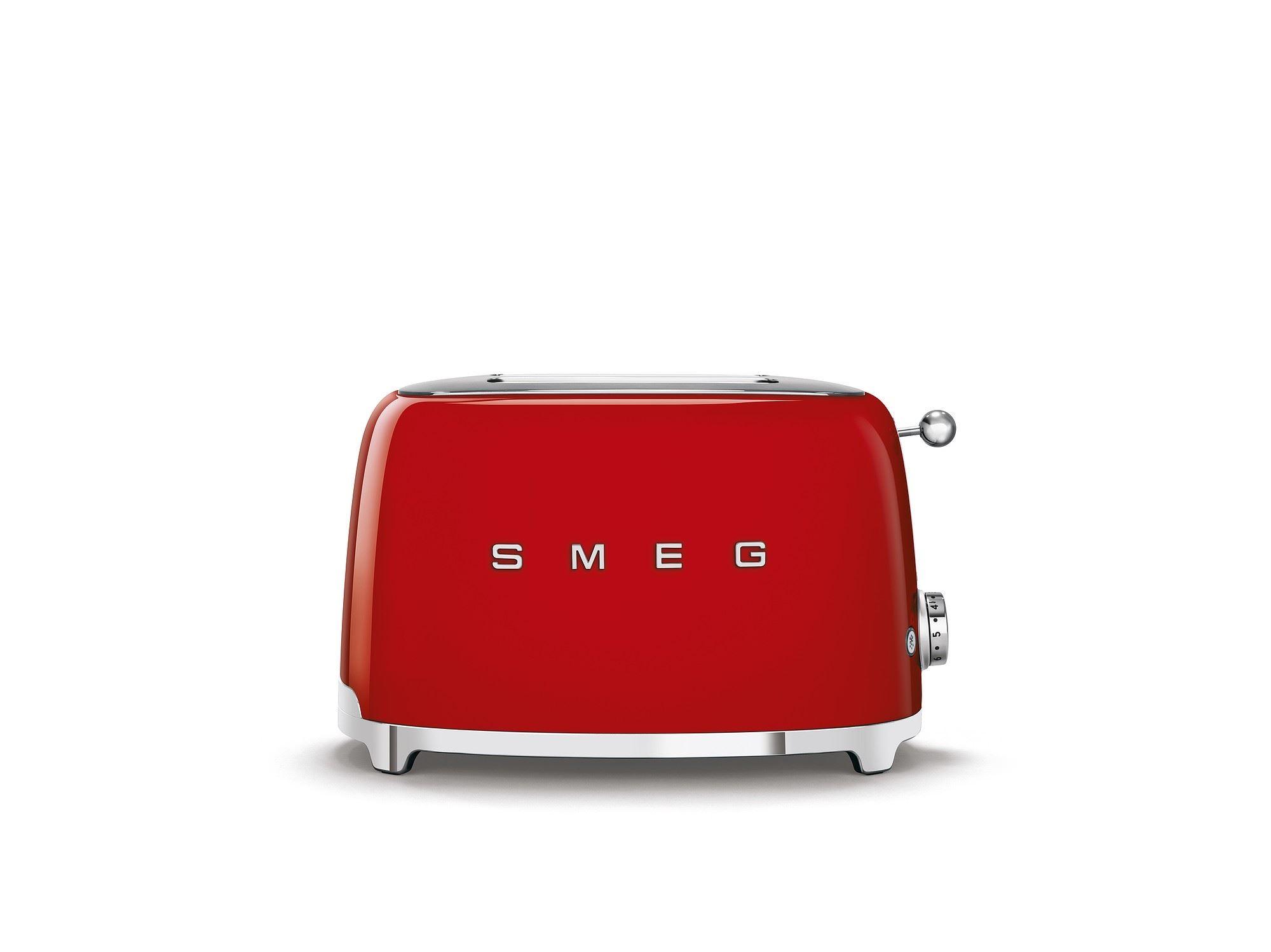 SMEG Toaster 2-Schlitz kompakt 50's Style