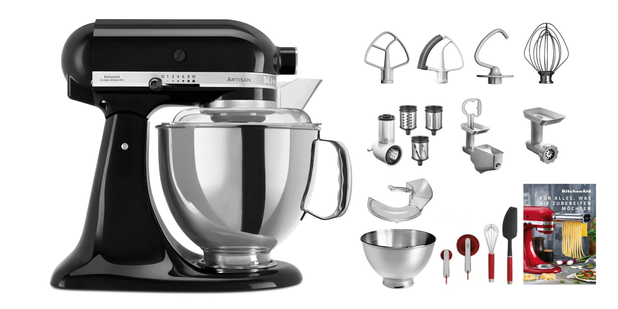 KitchenAid Jubi-Set KSM200 Swiss Edition