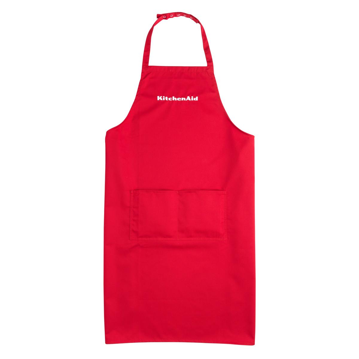 KitchenAid KSM200 Kochschürzen Set Swiss Edition, rot