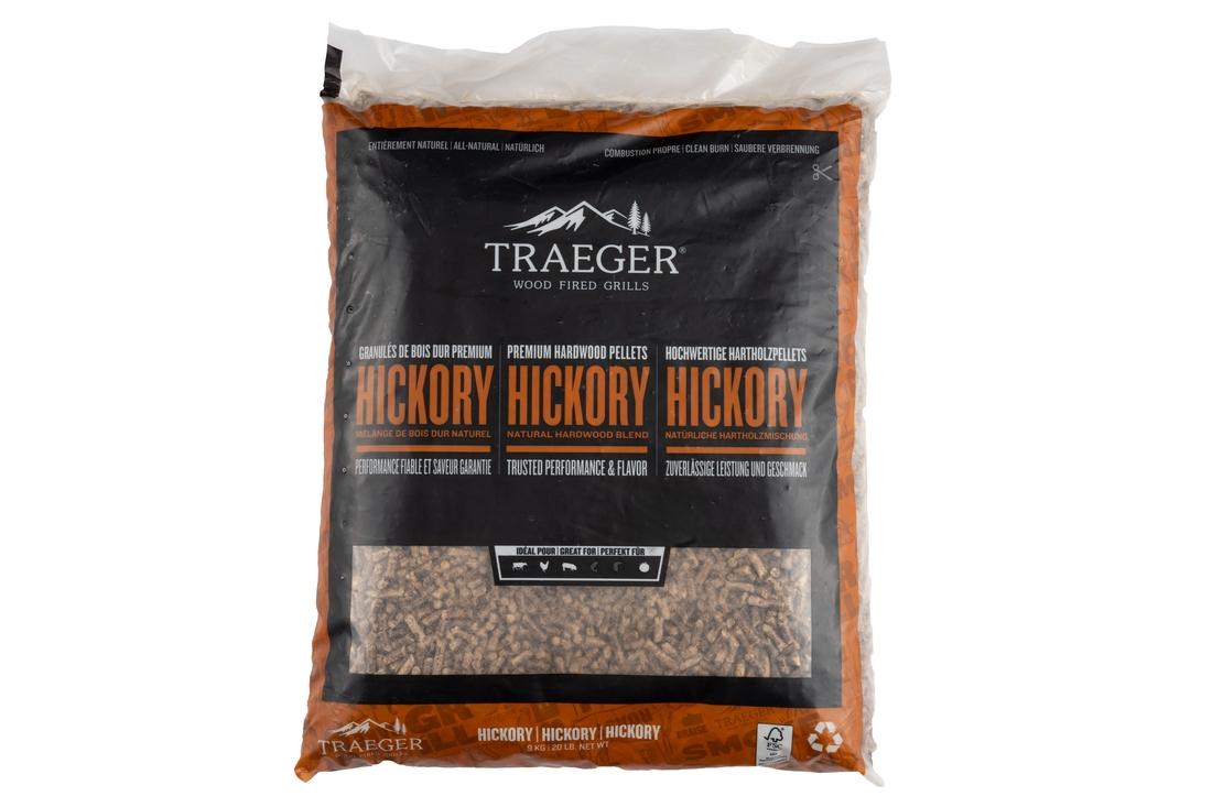 Traeger Hartholz Hickory FSC Pellets 9kg